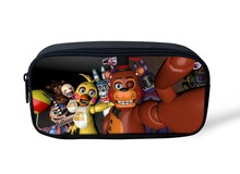 five nights at freddy's boys Pencil Case Multifunction Cosmetic Cases Stationery Pen Bag School Supplies Pencil Box Pencilcase