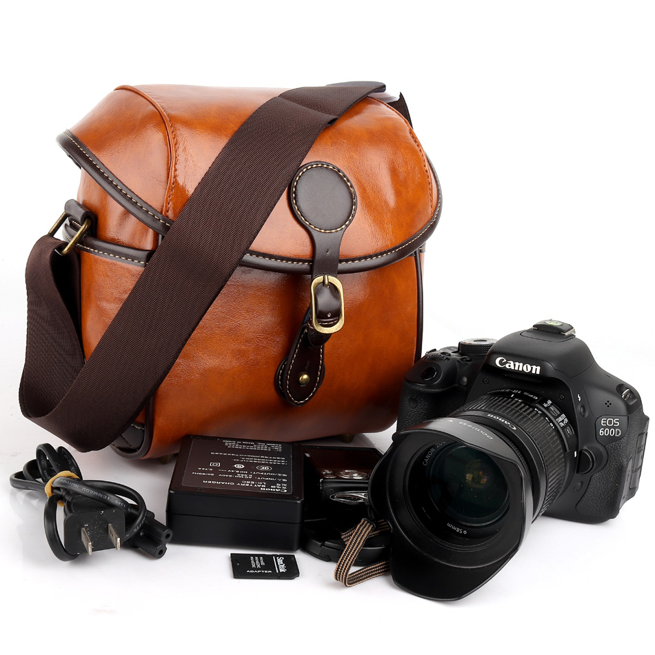 Étanche Rétro DSLR Camera Bag Case Pour Nikon P900 B700 B500 J5 D750 D40 D600 D610 D850 D90 D810 D80 d850 P520 D5000 J4