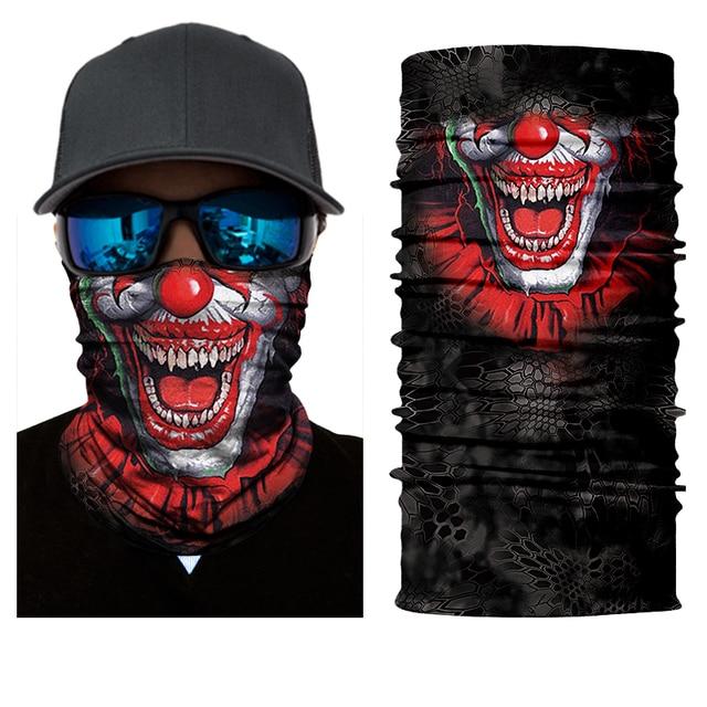 BJMOTO Halloween Scarf Mask Festival Motorcycle Face Shield Sun Mask Balaclava Party Masks Festive Supplies Masquerade Mask 5