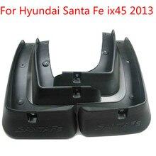 Мягкие пластиковые Брызговики брызговик для hyundai Santa Fe ix45 2013 авто-Стайлинг