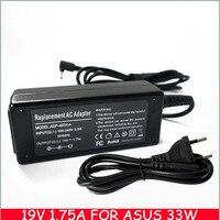 19 v 1.75a 33 w adaptador ac laptop charger power supply cord para asus e402s e402m e402ma e402sa notebook pc