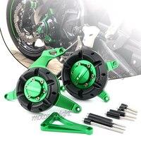 Motorcycle CNC Aluminum Engine Stator Protective Protector Guard Cover For Kawasaki Ninja 250 300 Z250 Z300 2013 2019 14 15 16