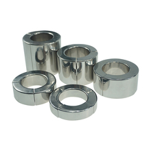 Heavy Duty Magnetic Stainless Steel Ball Scrotum Stretcher Metal Lasting Cock Ring For Men Delay Penis Ring Sex Toy for Men stainless steel cock scrotum bondage weight rings heavy type testicle stretcher pendant penis ring sex toys for men cock ring