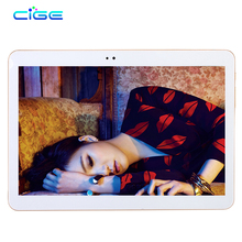 CIGE T805D Android 6.0 10.1 inch tablet pc Octa Core 4GB RAM 64GB ROM 8 Cores 5MP IPS Kids Gift Best Tablets pcs computer