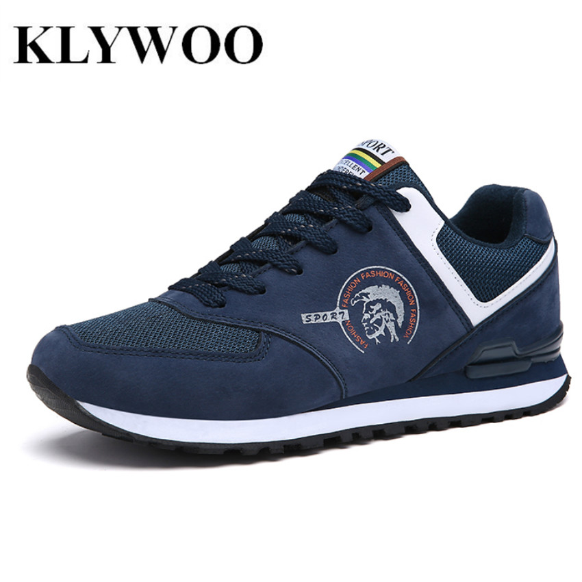 KLYWOO Brand Luxury Mens Shoes Casual Mesh Driving Shoes for Men Shoes Leather Spring Fashion Men Causal Shoes Zapatos Hombre klywoo new white fasion shoes men casual shoes spring men driving shoes leather breathable comfortable lace up zapatos hombre