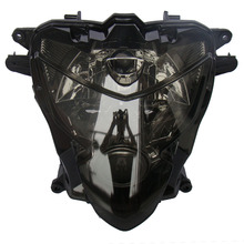 Smoke Motorcycle Headlight for Suzuki GSXR 600 750 K4 / 2004 2005 GSX-R  Black Color