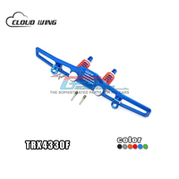 1Set TRX4 Aluminium Alloy Front Crash Barrier Spring Unloading U Hook Original Upgrade Parts For RC Crawler Traxxas TRX 4 TRX 4