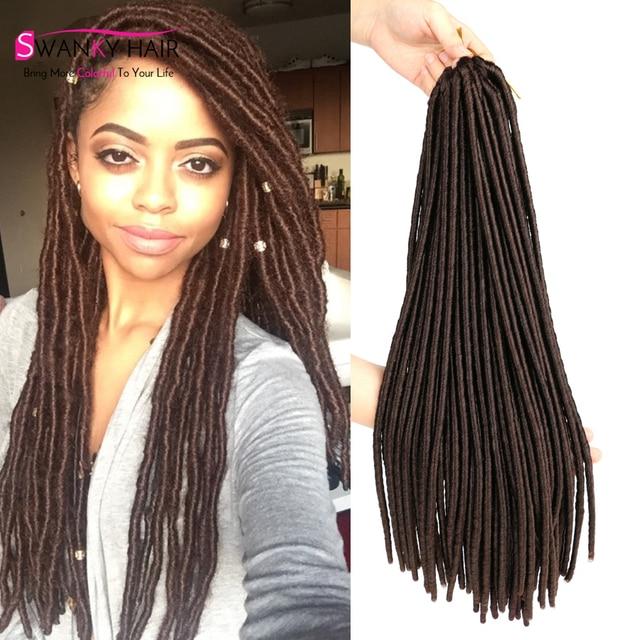 Wholesale Price 18 Faux Locs Crochet Braids Hair Extension