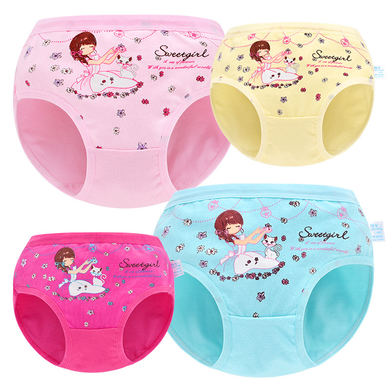 Girls Panties Briefs Baby Panties Toddler Cartoon Princess Cotton Panty 1-9Y Girl Underwear Kids Baby Accessories Child Panties