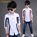 Kindstraum Boys Fashion Long Sleeve Shirts Kids New Spring & Autumn Cotton Shirt Casual Formal Style Party Clothing, MC252