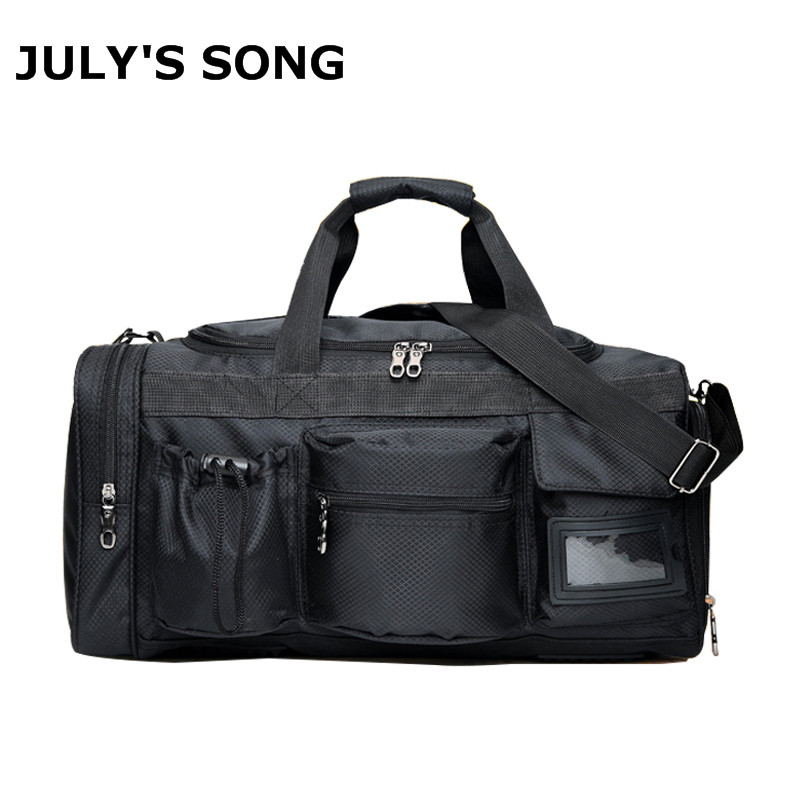 New Travel Bag Large Capacity Men Hand Luggage Travel Duffle Bags Nylon Weekend Bags Multifunctional Travel Bags