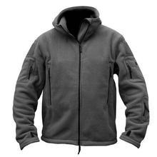 Military Fleece Tactical Softshell zipper Jacket
