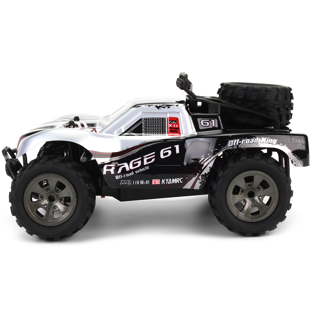 Forte di Potenza Monster Truck con di Alta Qualità Pneumatici di Grandi Dimensioni 2.4g 1/18 18 km/h Drift RC Off-Road Car RTR regalo del giocattolo