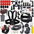 Kit kit combo final común básico deportes al aire libre 40 accesorios para gopro hero 4/3 +/3/2/1