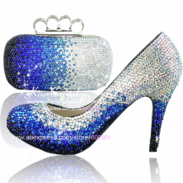 Silver Heel Shoes Closed Toe