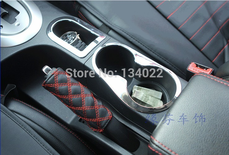 car stickers of water cap glass abs chrome sequins for nissan qashqai 2011 2012 2013 2014 in. Black Bedroom Furniture Sets. Home Design Ideas