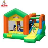 IHOME Бесплатная доставка детский надувной крытая площадка крупной бытовой слайд ocean бассейн большой батут parque infantil слайд