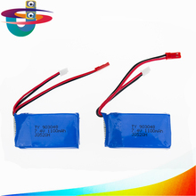 2pcs LiPo RC Drone Battery Wltoys A949 A959 A969 A979 K929 1100mah Battery 7.4V For Wltoys a959 RC Helicopter Airplane Car Boat