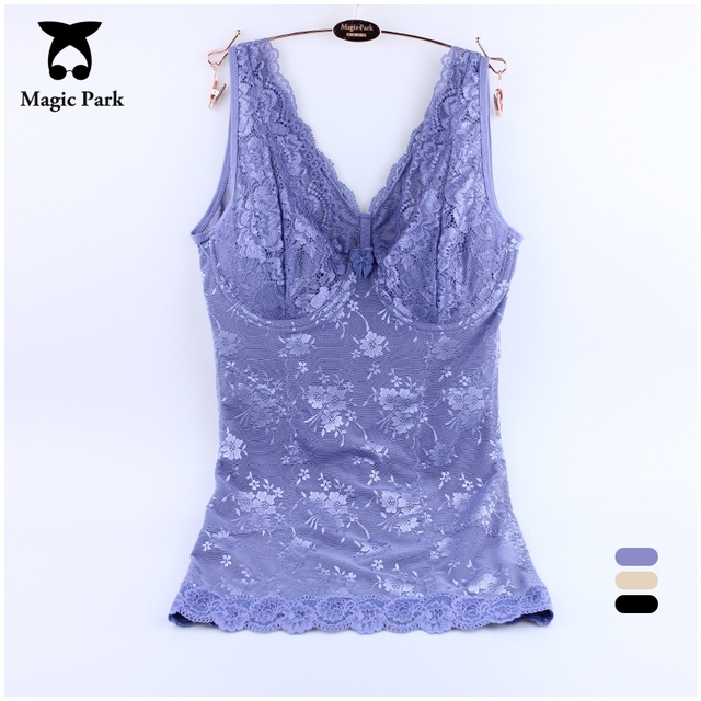 The Best Big Stretching Lace Sexy Magic Body Shapers Black Women Underwear Plus size Shapewear Lace Corsets Bustiers Tight Tops
