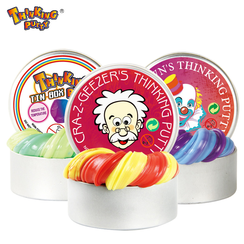 Intelligent Slime Fluffy Temperature Change Turns Color Hand Gum Silly Putty light Clay Fimo Plasticine Mud Doh Toys Kids Gift safety malleable polymer clay playdough soft power toys slime fluffy light colorful plasticine fimo fimo clay pasta para modelar