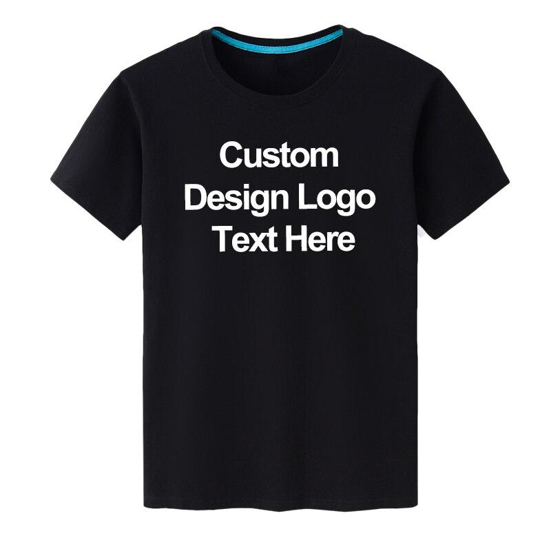 COYOUNG Brand MEN Summer O-neck T Shirt DIY Custom Design White Milk Silk and Black Cotton T-shirt Short-sleeved  Top Tees