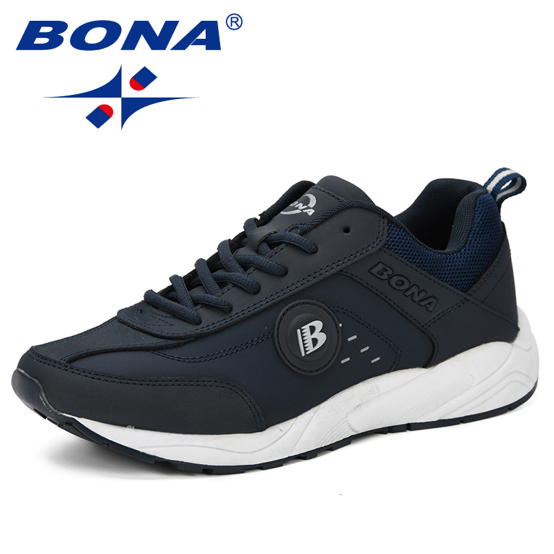 Image 3 - BONA 2019 Spring Casual Shoes Men Breathable Shoes Tenis  Masculino Shoes Zapatos Hombre Sapatos Outdoor Shoes Sneakers Men  ComfyMens Casual Shoes