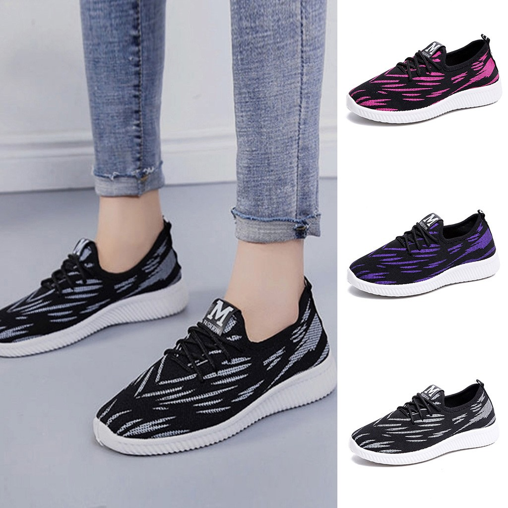 Women's Summer Sneakers Fashion Casual Anti-Slip Sport Walking Running Shoes Breathable Tenis Feminino Fashion Loafers Casual