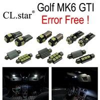 13pc X Canbus Error Free Volkswagen VW GOLF 6 MK6 GTI LED Interior Light Kit Package