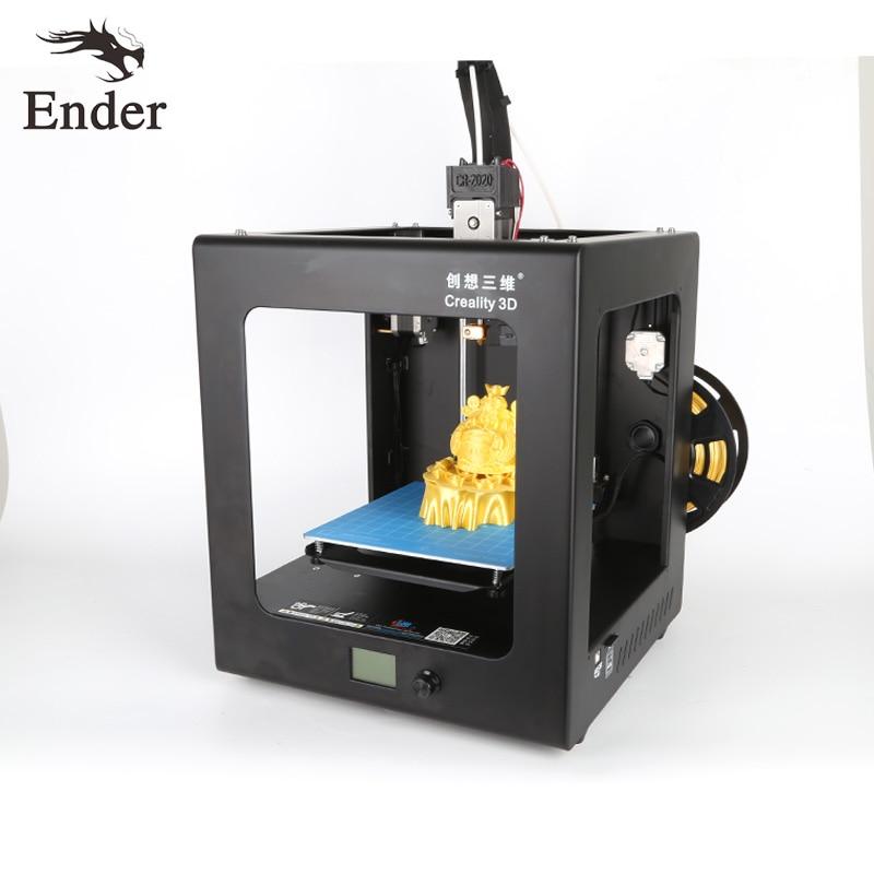 High Precision CR 2020 3D Printer Metal Desktop Large