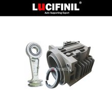 LuCIFINIL Air Suspension Pump Cylinder Head With Piston Ring Repair Kits For X5 E53 A6 Q7 LRRangeRover L322 4L0698007A