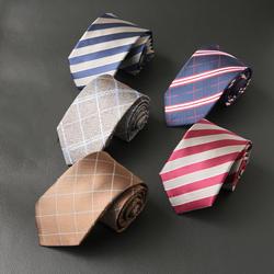 Mantieqingway мужской галстук в клеточку Gravata Corbata тонкий Vestidos мужской полиэстер шеи галстук господа полосатый принт Галстуки