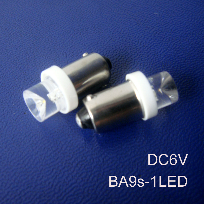 High quality ba9s 6.3v led bulbs,6v ba9s led instrument lights,BA9S led light 6.3v LED indicating lamp free shipping 500pcs/lot image