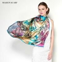 Printed Dresses Hijab Women Summer Dress Scarves