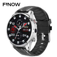 2019 New Finow X7 4G Smart Watch Men 1.39 inch AMOLED 400*400 GPS/GLONASS Quad Core 16GB 600mAh MTK6739 relogio Watch Phone