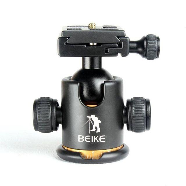 """Beike BK-03 Tripé de Câmera Ballhead com Prato de Liberação Rápida 1/4 """"Parafuso para Tripé monopé Max carga de 8 kg"""