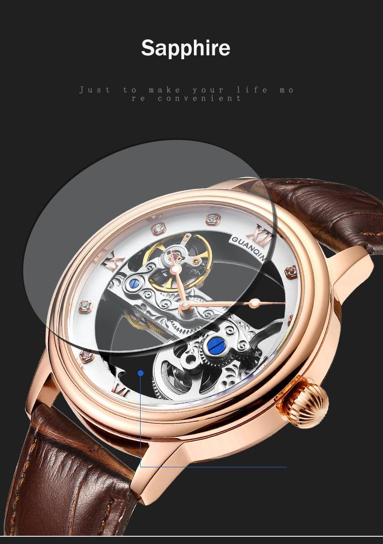 HTB1Mw32c8Kw3KVjSZFOq6yrDVXaP GUANQIN 2019 men watches top brand luxury Automatic Luminous clock men Tourbillon waterproof gold Mechanical relogio masculino
