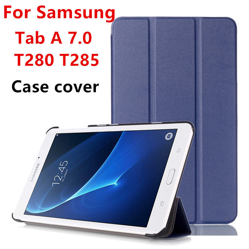 Case Cover For Samsung Galaxy Tab A 7.0 SM-T280 SM-T285 Business PU Leather For Samsung T280 T285 Tablet Protector Protective 7