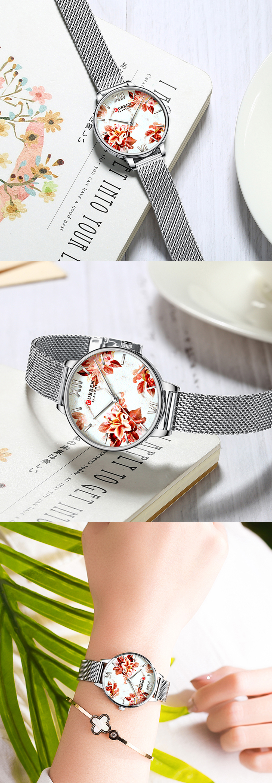 HTB1Mw3GeBKw3KVjSZFOq6yrDVXax CURREN Charming Flower Design Fashion