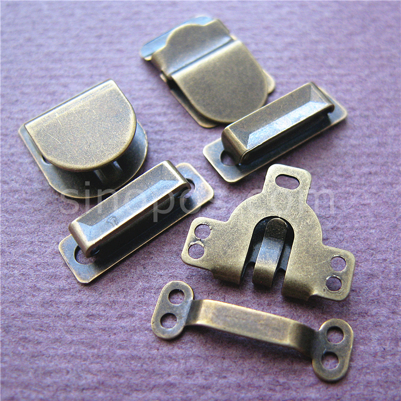 Trouser  or Skirt Hook /& Bar Fasteners Sew on silver 5 sets