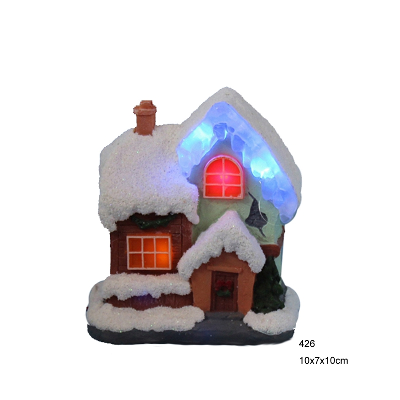 4china supplies christmas ornament led decoration lightschristmas decoration paper mache house