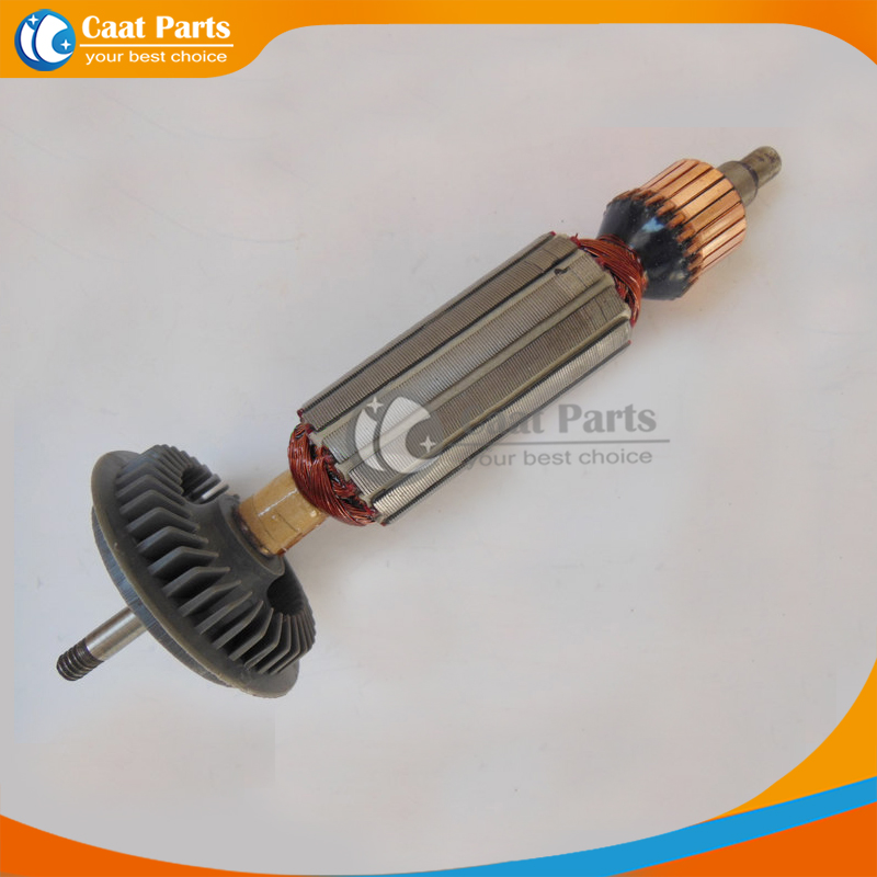 Free shipping! AC 220V Drive Shaft Electric Hammer Armature Rotor for Bosch GWS7-100/100T GWS7-125/125T,High-quality! free shipping replacement hammer intermediate shaft spline shaft for bosch gbh2 24 gbh4dfe gbh4dsc hammer accessories