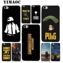 YIMAOC PUBG Game Art Soft Silicone Case for Xiaomi Redmi Note 9 Mi 8 Se 7