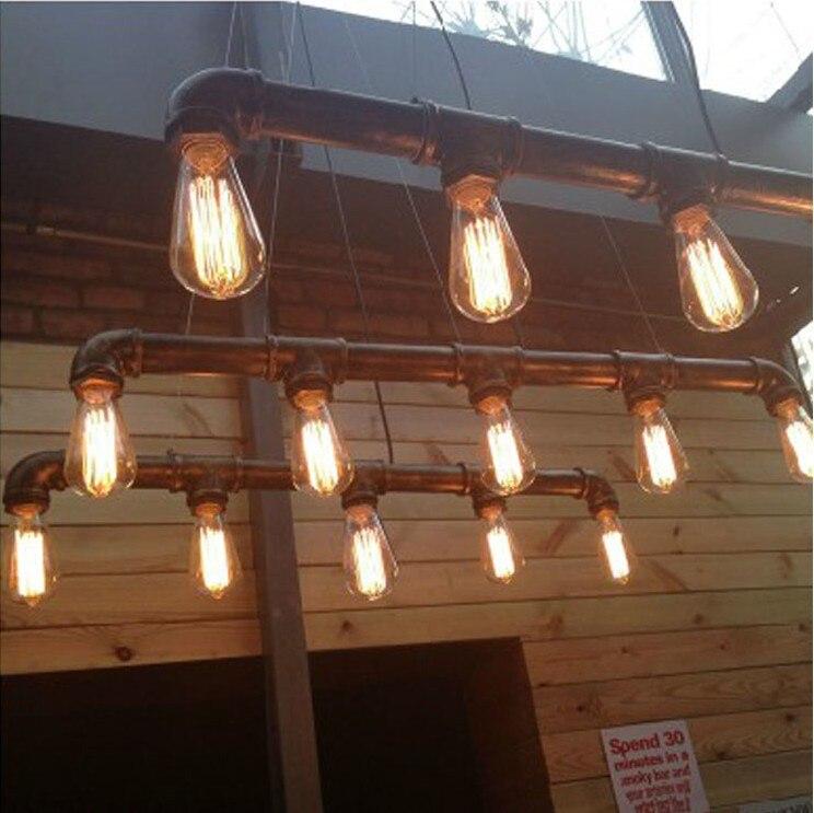 Aliexpresscom  Buy VIntage Loft Industrial Water Pipe lamp Retro