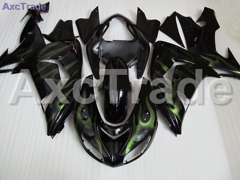 Fit For Kawasaki Ninja ZX10R ZX-10R 2006 2007 06 07 Motorcycle Fairing Kit High Quality ABS Plastic Injection Mold Custom Made high quality custom injection mold abs plastic injection moulding