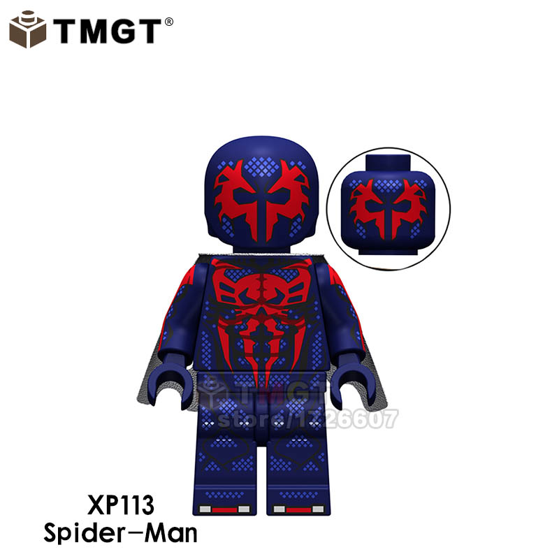 Model Building Blocks Single Sale Super Heroes Legoings Spider Man Noir Miles Morales Spider-ham Ultimate Spiderman Building Blocks Toys For Children