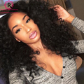 7A 360 Lace Frontal Wig Brazilian Deep Curly Wave Hair Wig Lace Front Human Hair Wigs 180% Density Full Lace Human Hair Wigs