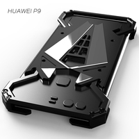 R-just   Phone   Case New Design Metal Aluminum LuxuryTough Armor THOR   Mobile     Phone   Cases for Huawei P9   Housing   Cover Free Shipping
