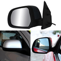 Texture Black Automatic Folding Power Heated Original Replacement Side View Mirror For Nissan Sunny 2010 2014