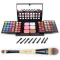 High Quality Pro Cosplay 78 Colors Make Up Set with Eyeshadow+Lipgloss+Concealer+Blush+Power Makeup pslette Free Shipping