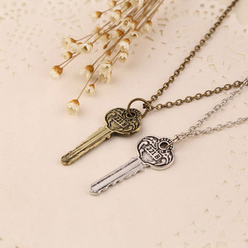 New Necklaces Pendants for men women drama movie Detective Sherlock Holmes key room 221B zinc alloy link chain jewelry image